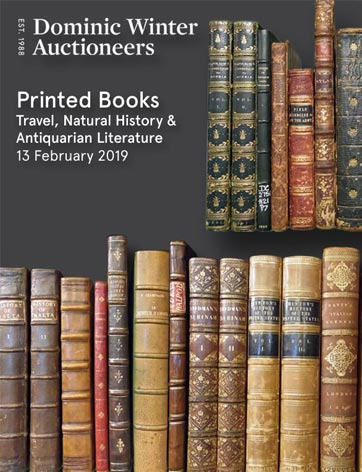 Printed Books: Travel, Natural History & Antiquarian Literature
