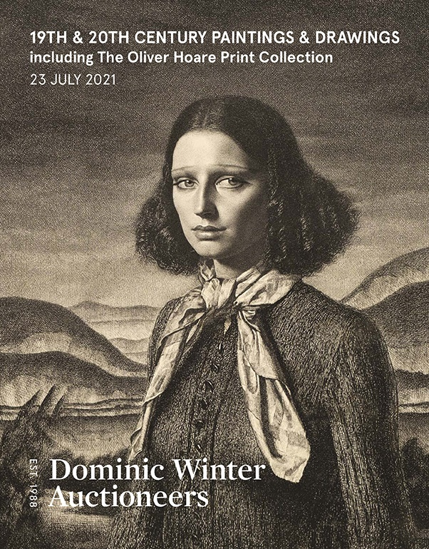 19th & 20th Century Paintings & Drawings including The Oliver Hoare Print Collection