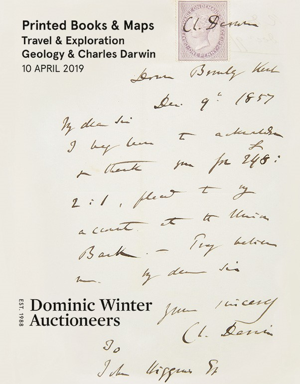 Printed Books & Maps, Travel & Exploration, Early Geology, Charles Darwin & Fossils