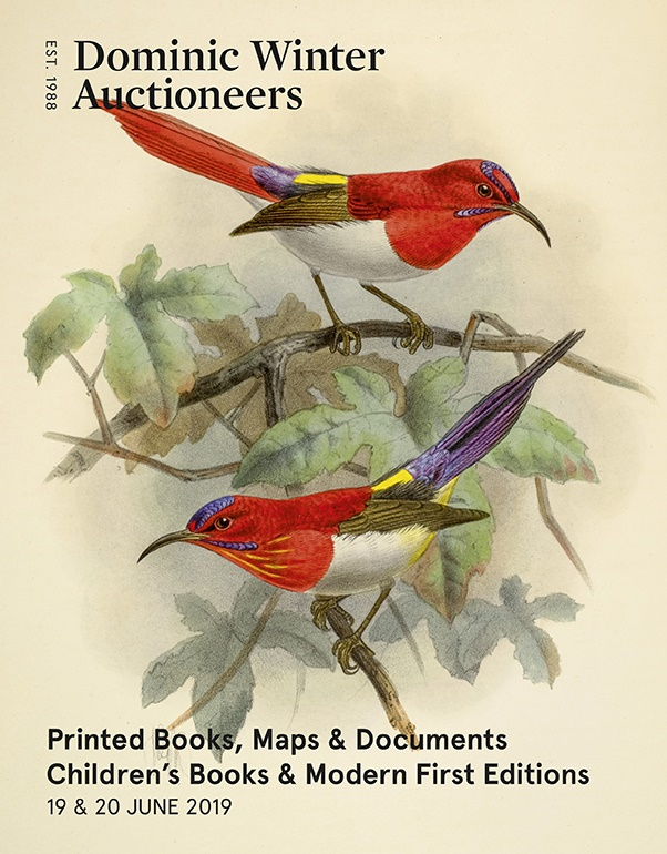 Printed Books, Maps & Documents, Early Bibles & The Ladwell Collection of Fine Bird Books: Part II