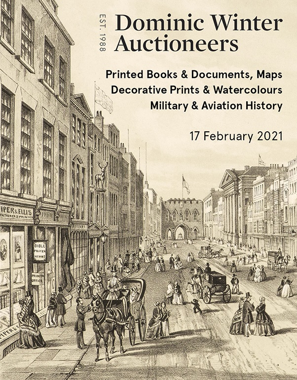 Printed Books & Documents, Maps, Decorative Prints & Watercolours, Military & Aviation History