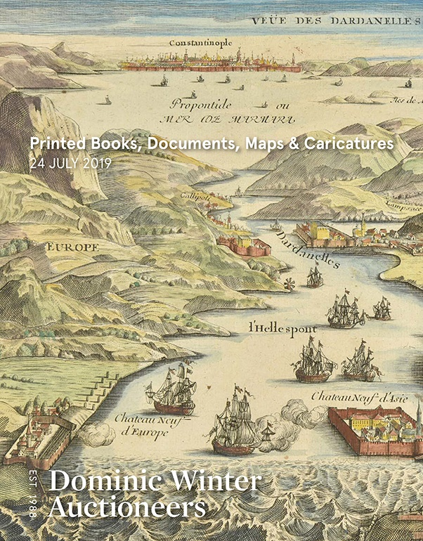 Printed Books, Documents, Maps & Caricatures