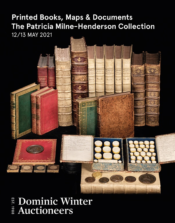 Printed Books, Maps & Documents, Numismatics: The Patricia Milne-Henderson Collection