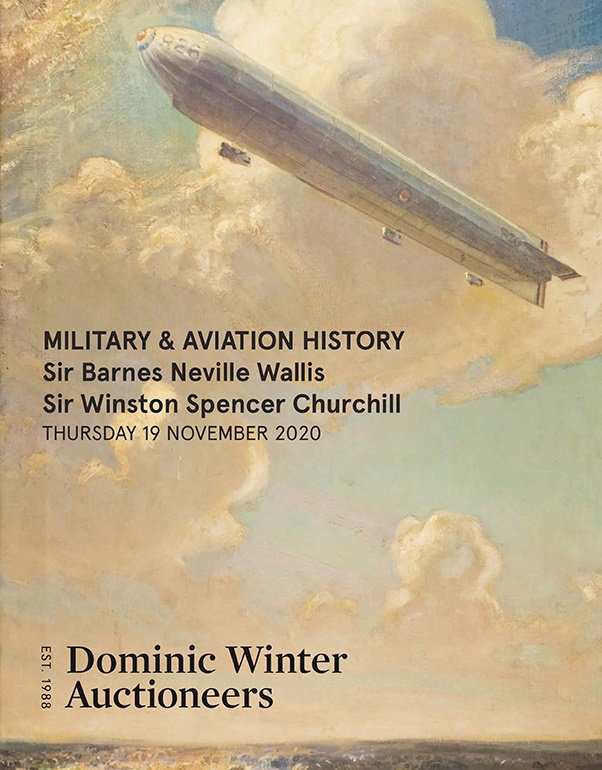 Military & Aviation History, Medals & Militaria, Collections of Barnes Wallis & Winston Churchill