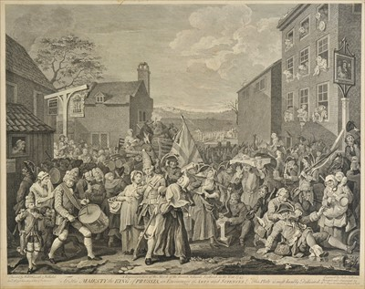 Lot 45-Hogarth, William, 1697-1764