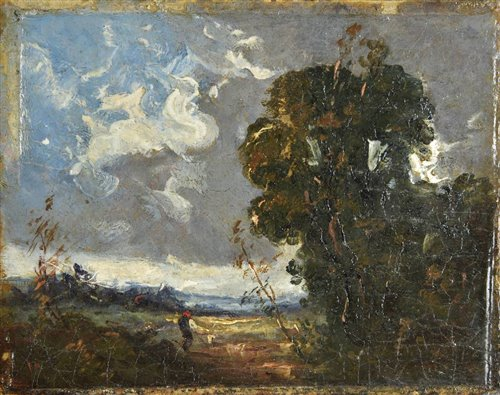 Lot 63-Attributed to John Constable (1776-1837).