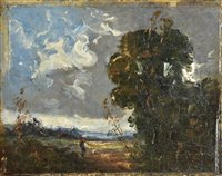 63 - Attributed to John Constable (1776-1837).