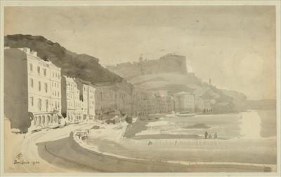 Lot 33-Corsica. View of Bonifacio, 1959