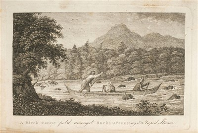 Lot 313-Campbell (Patrick). Travels in the Interior Inhabited Parts of North America, 1793
