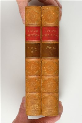 Lot 383 - Hind (Henry Youle). Narrative of the Canadian Red River Exploring Expedition, 1860