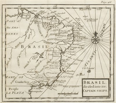 Lot 158 - Brockwell (Charles). The Natural and Political History of Portugal, 1726