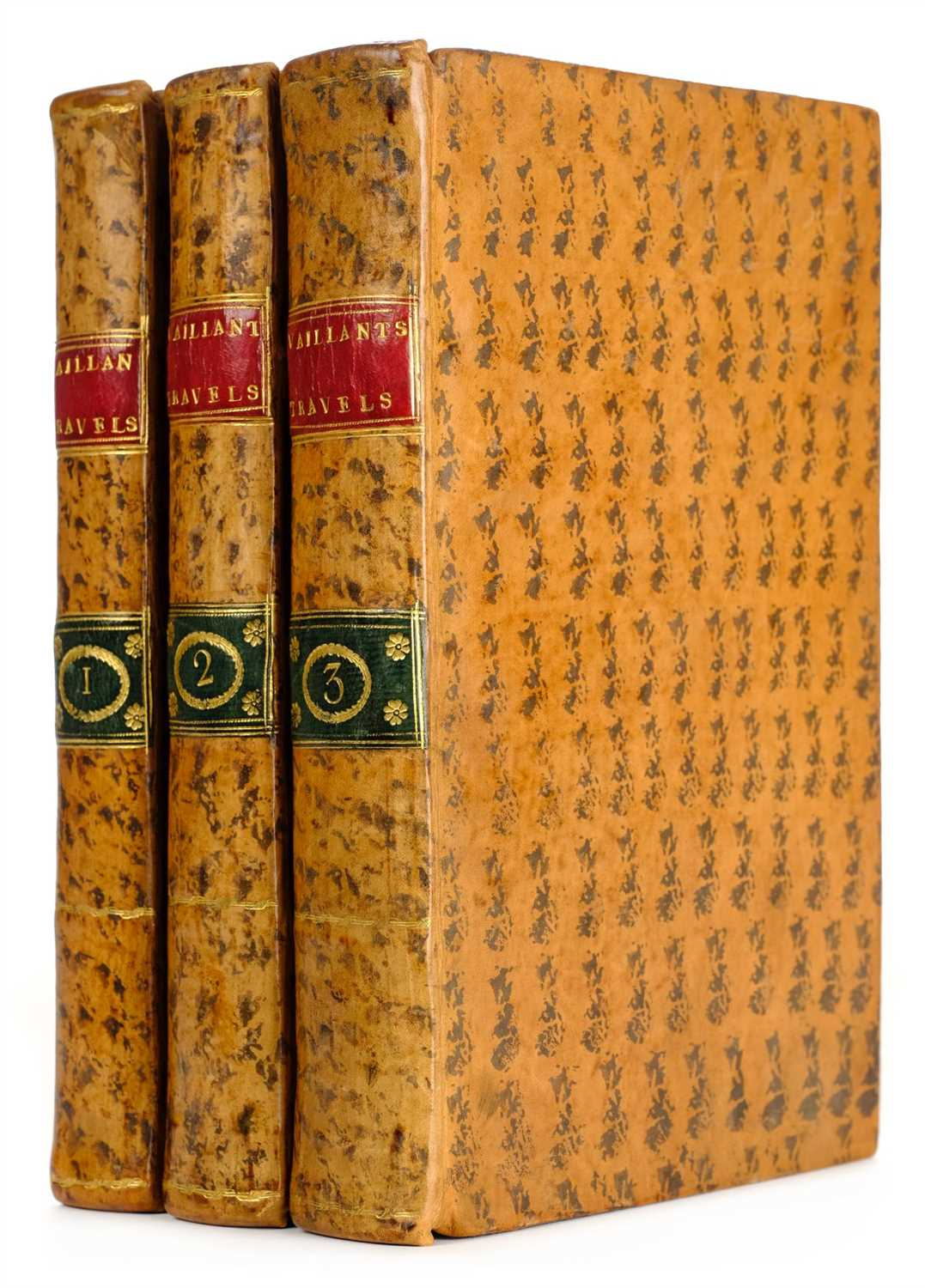 Lot 323 - Le Vaillant (Francois). New Travels into the Interior Parts of Africa, 1796
