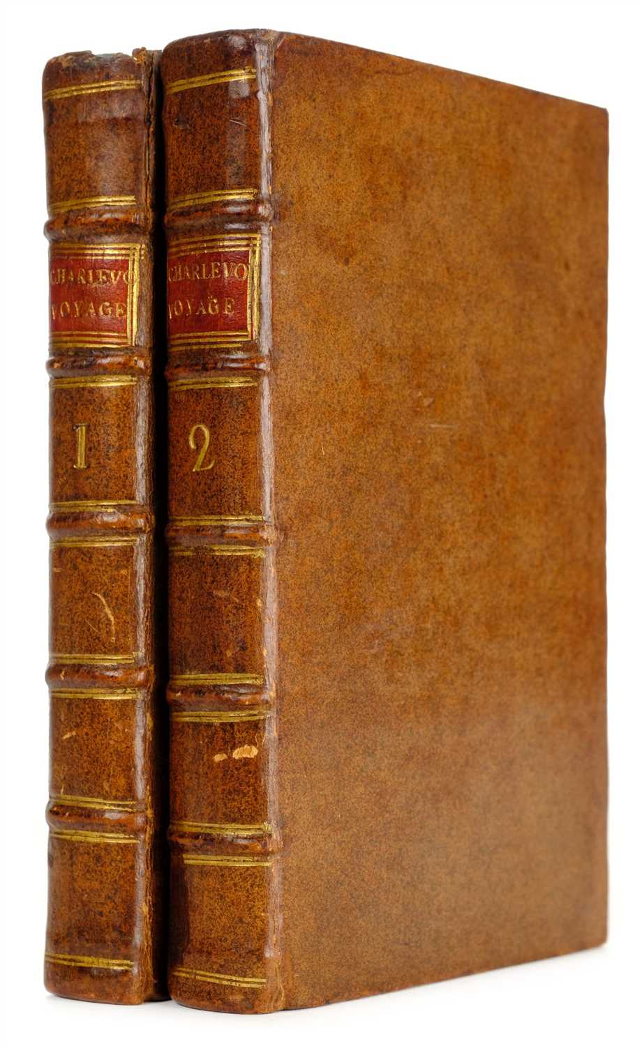 Lot 235 - Charlevoix (Pierre Francois Xavier de). Journal of a Voyage to North-America., 1761