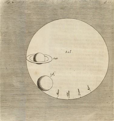 Lot 104-Huygens (Christiaan). The Celestial Worlds discover'd, 1698