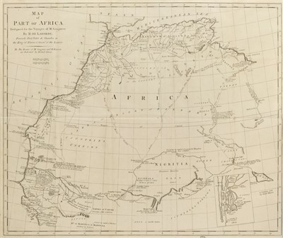 Lot 306 - Saugnier (F., & P. R. de Brisson). Voyages to the Coast of Africa, 1792
