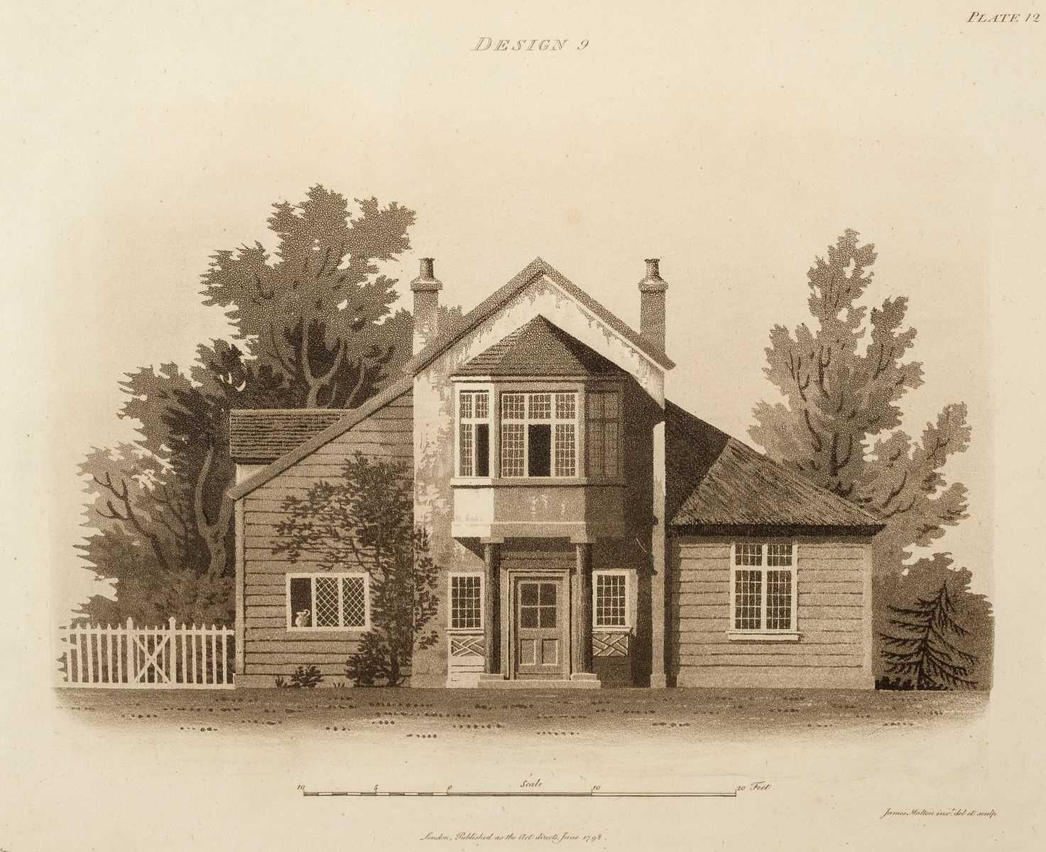 Lot 334 - Malton (James). An Essay on British Cottage Architecture, 1804