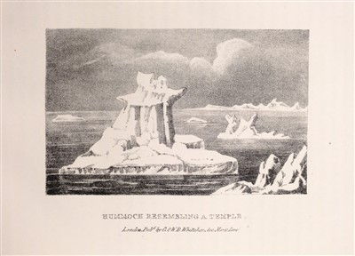 Lot 363 - Manby (George William). Journal of a Voyage to Greenland, in the Year 1821, 1822