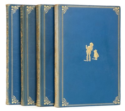 Lot 567-Milne (A. A.). Winnie-the-Pooh, 1st deluxe edition, 1926