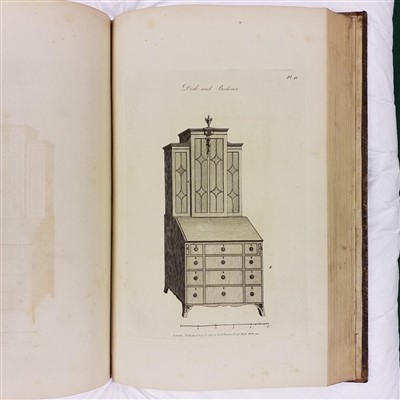 Lot 297 - Hepplewhite (Alice). The Cabinet-Maker and Upholsterer's Guide, 1789