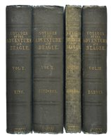 Lot 140 - Darwin (Charles; King, Philip Parker and Fitzroy, Robert).