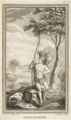 Lot 249 - Bossu (Jean Bernard). Nouveaux voyages aux Indes occidentales, 1768