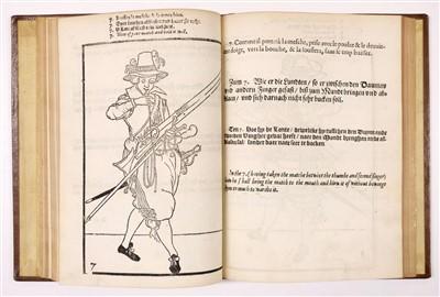 Lot 12-Gheyn (Jacob de). Maniement d'Armes d'Arquebuses, Mousquets, et Picques, [1620]