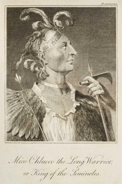 Lot 312 - Bartram (William). Travels through North and South Carolina, 1793
