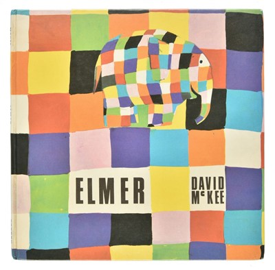 Lot 566-McKee (David). Elmer, 1st edition, 1968