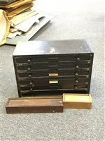 Lot 44-Type cabinet.