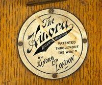 Lot 186-Kinora of London flicker book viewer.