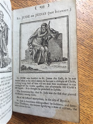 Lot 482-Bible; hieroglyphic. A New Hieroglyphical Bible, 1st edition, 1794