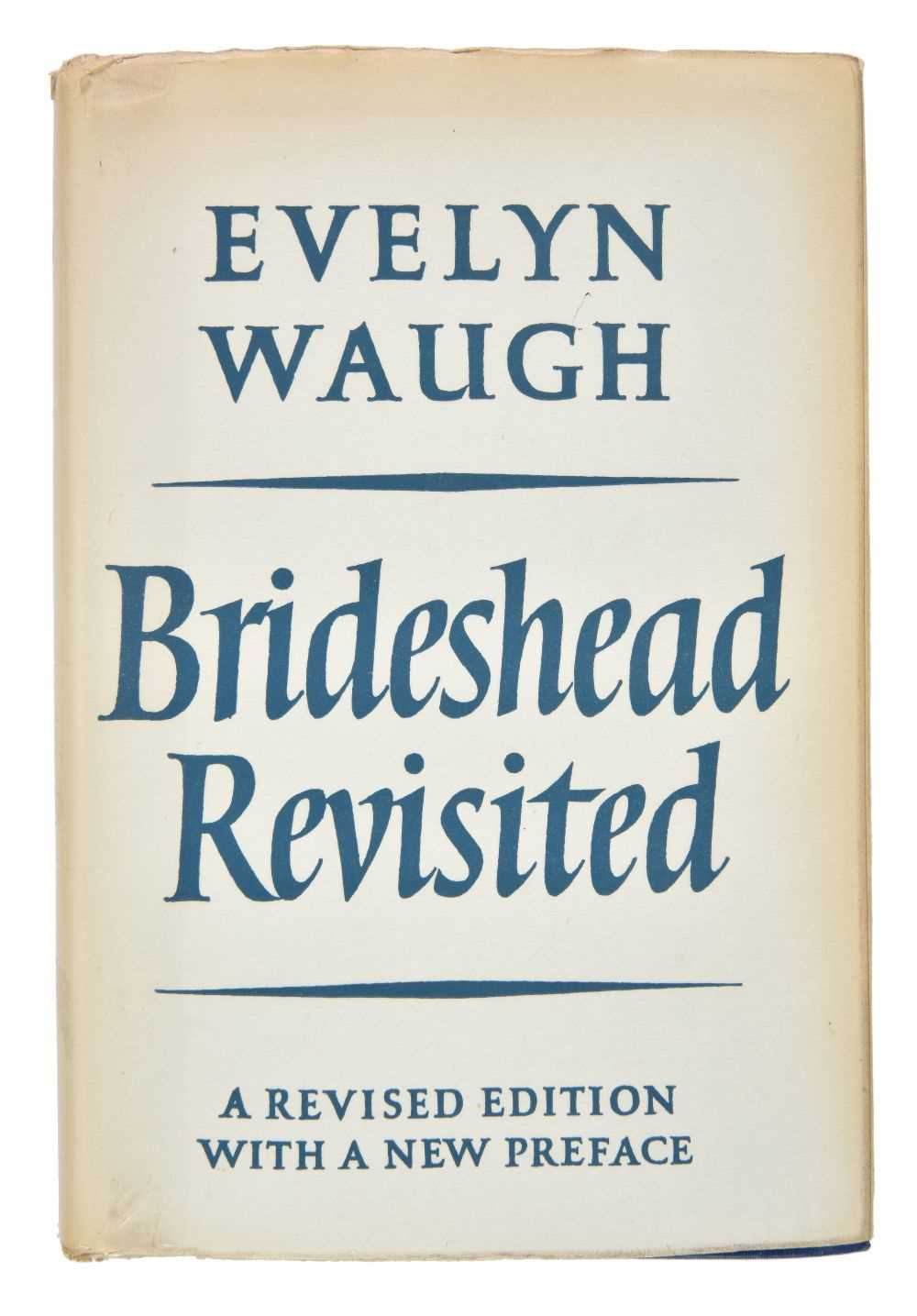 Lot 754-Waugh (Evelyn). Brideshead Revisited, revised edition with new preface, 1960, signed