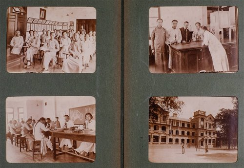 266 - China. Four photograph albums depicting Peking Union Medical College, c.1907-15