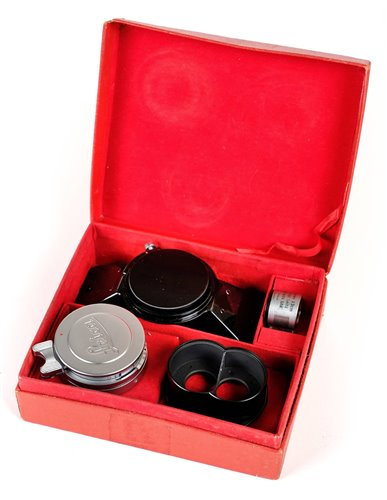 359 - Leica (Leitz) Stemar 33mm f/3.5 stereoscopic lens kit OIRZO-M.