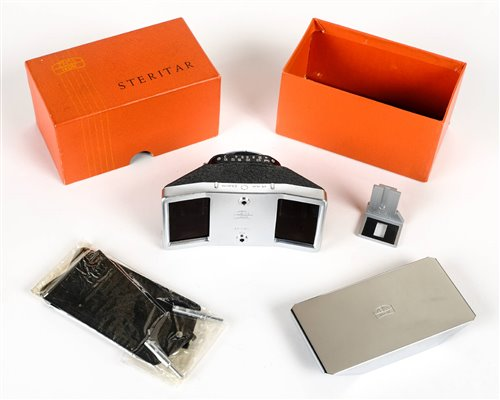 Lot 444 - Zeiss Ikon Steritar 814 D stereo adapter for
