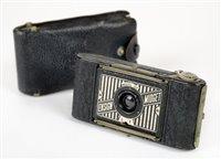 Lot 349-Compass / Jaeger Le Coultre 1930s miniature camera.