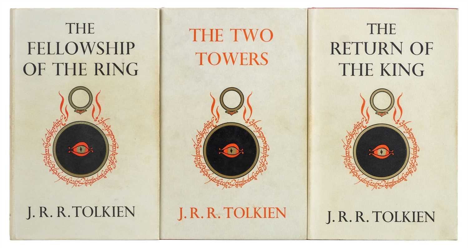 Lot 751 - Tolkien (J.R.R.). Lord of the Rings, 1956-57, signed by the author