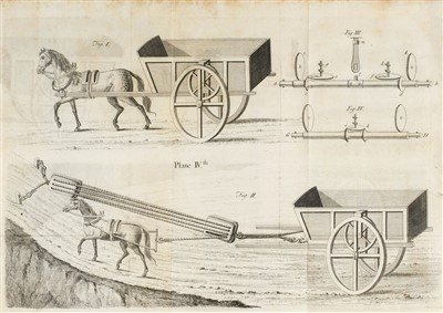 Lot 170 - Rowe (Jacob). All Sorts of Wheel-Carriage, Improved, 1734