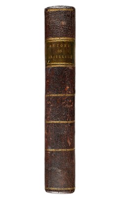 Lot 293 - Papacino d'Antoni (Alessandro Vittorio). A Treatise on Gun-Powder, 1789