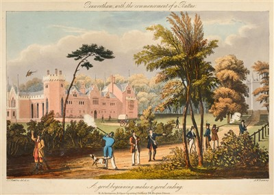 Lot 375 - Rawstorne (Lawrence). Gamonia: Or, the Art of Preserving Game, 1837