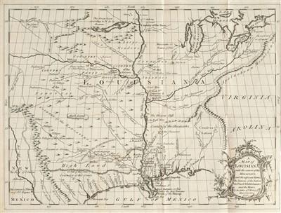 Lot 241 - Le Page Du Pratz (Antoine Simon). The History of Louisiana, 1763