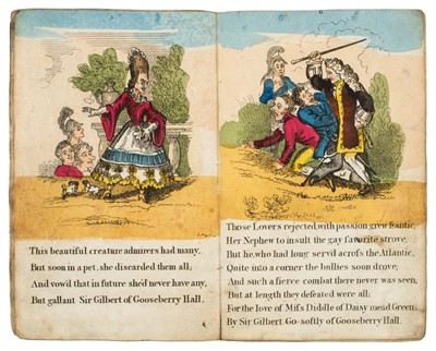 Lot 366 - Dibdin (Charles). The Life and Death of Miss Deborah Diddle, [1825?]
