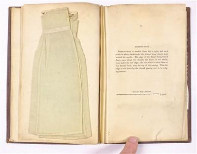 Lot 377 - Needlework Specimens. Instructions on Needle-Work and Knitting, 1838