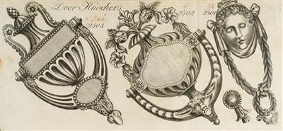 Lot 332 - Trade Catalogue. A catalogue of metalwork, [Birmingham?], circa 1801