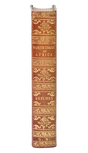 Lot 14-Beechey (Frederick William). Expedition to explore the Northern Coast of Africa, 1st edition, 1828
