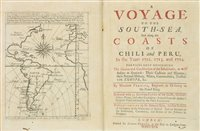 Lot 41-Frezier (Amédée François). A Voyage to the South-Sea ... Chili and Peru, 1717