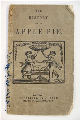 Lot 480-Alphabet book. The History of An Apple Pie, circa 1860