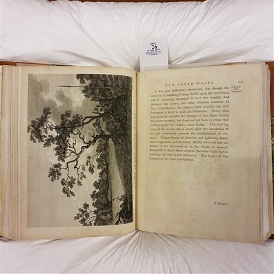 Lot 26-Phillip (Arthur), Voyage to Botany Bay, 1st edition, 1789
