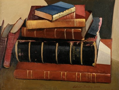 Lot 440 - Bailey (Adrian, 20th/21st century). A stack of antiquarian books, 2003