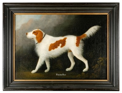 Lot 414-Clowes (Daniel, 1774-1829). Portrait of Sancho